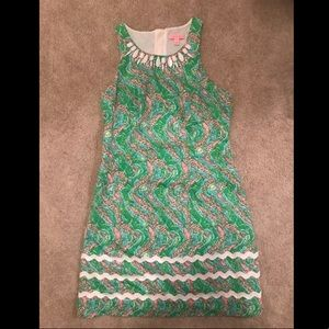 Lilly Pulitzer Alligator print dress